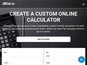Jscalc io Analytics - Market Share Stats & Traffic Ranking