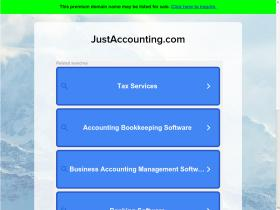 justaccounting.com