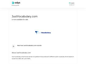 justvocabulary.com