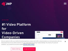 Jwplayer com Analytics - Market Share Stats & Traffic Ranking