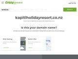 kapitiholidayresort.co.nz