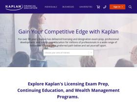 Kaplanfinancial com Analytics - Market Share Stats & Traffic Ranking