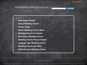 kateaspenweddingfavors.net