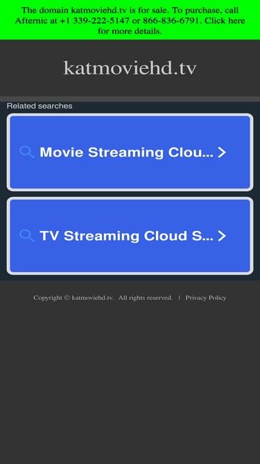 Katmoviehd tv Analytics - Market Share Stats & Traffic Ranking