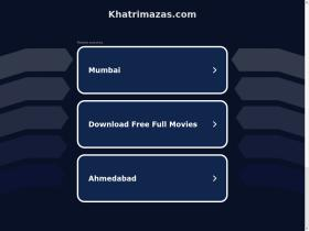 40 Similar Sites Like Khatrimazas com - SimilarSites com