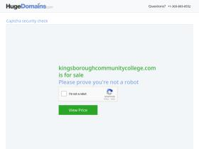 kingsboroughcommunitycollege.com