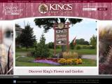 kingsflowerandgarden.com