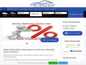 kirbysvehiclesales.co.uk