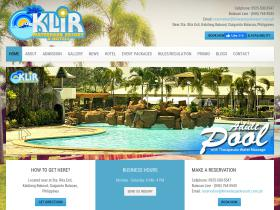 klirwaterparkresort.com.ph