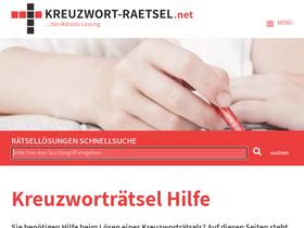Kreuzwort Raetsel Net Suche