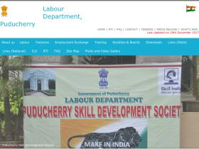 labour.pondicherry.gov.in