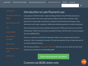 late-payment-law.co.uk