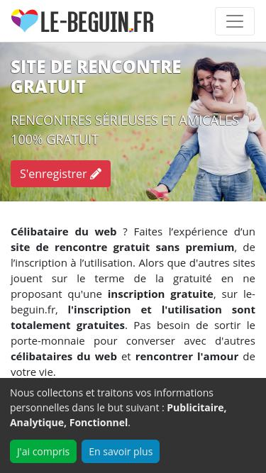 Beguin Dating Site.