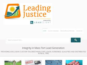 leadingjustice.com