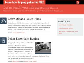 learnhowtoplaypokerfree.com