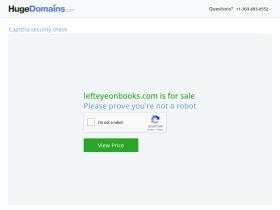 lefteyeonbooks.com
