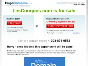 lesconques.com