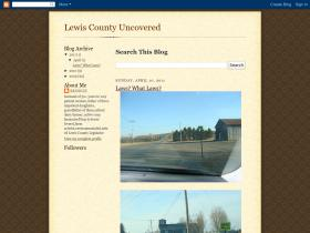 lewiscountyuncovered.blogspot.com