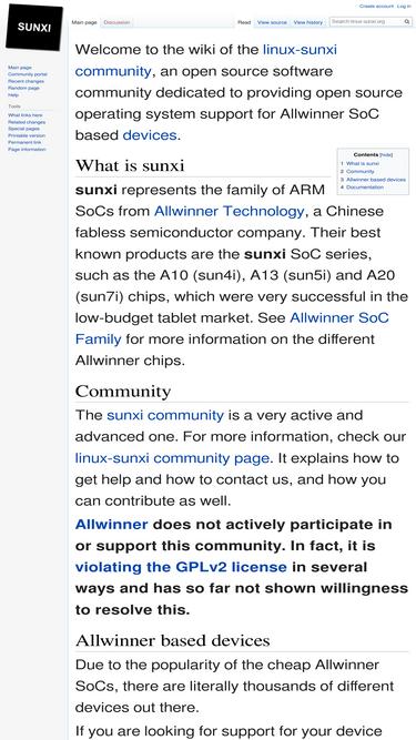 Linux-sunxi org Analytics - Market Share Stats & Traffic Ranking