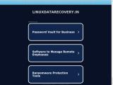 linuxdatarecovery.in