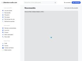 litteratureaudio.com