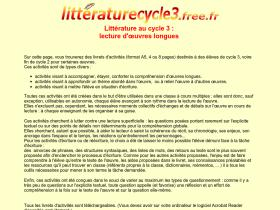 litteraturecycle3.free.fr