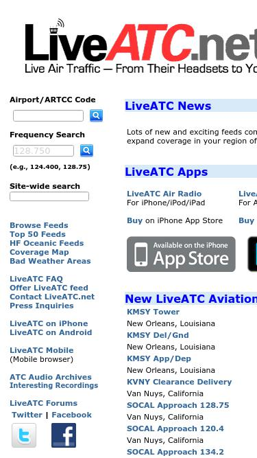 Liveatc net Analytics - Market Share Stats & Traffic Ranking