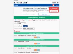 Livescores biz Analytics - Market Share Stats & Traffic Ranking
