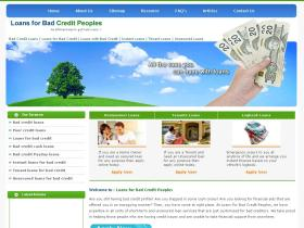 loansforbadcreditpeoples.co.uk