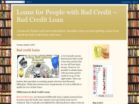 loanswithbadcreditpeople.blogspot.com