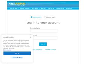 login.fastdomain.com