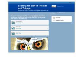 looking-for-staff-in-trinidad-and-tobago.careerpath.tel