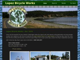 lopezbicycleworks.com