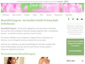 love-of-lingerie.com