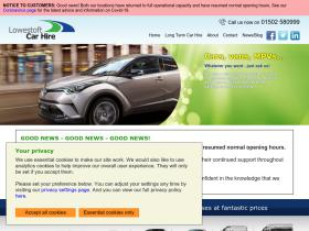 lowestoftcarhire.co.uk