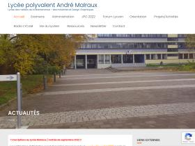 lycee-andre-malraux.org