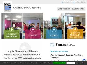 lycee-chateaubriand.fr