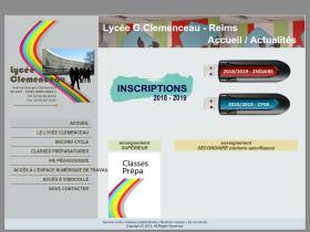 lycee-clemenceau-reims.fr