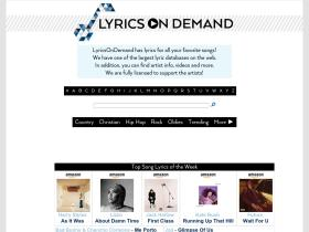 lyricsondemand.com