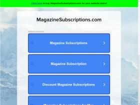 magazinesubscriptions.com