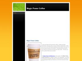 magicpowercoffee.weebly.com