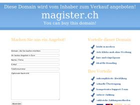 magister.ch