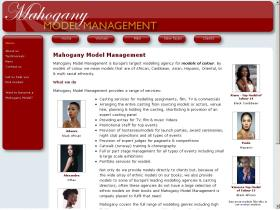 mahoganymodels.co.uk