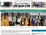 mainelymusic.net