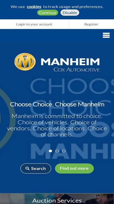 Manheim co uk Analytics - Market Share Stats & Traffic Ranking