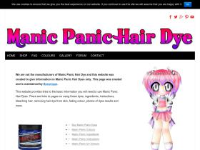 manicpanichairdye.co.uk
