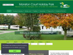 manstoncaravanpark.co.uk