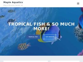 mapleaquatics.co.uk