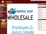 mapleleafvapes.com