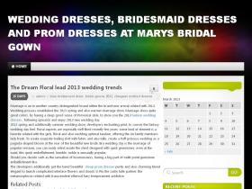 marysbridalgown.com